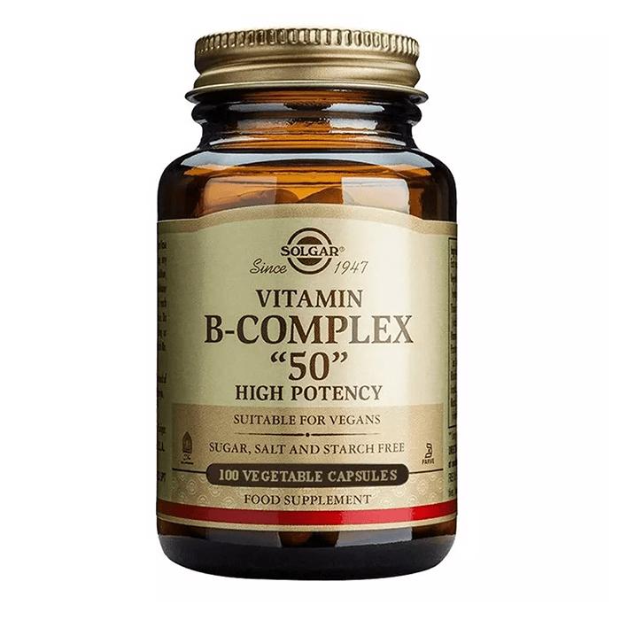 Solgar Vitamin B Complex 50 Mg 100 Kapsül
