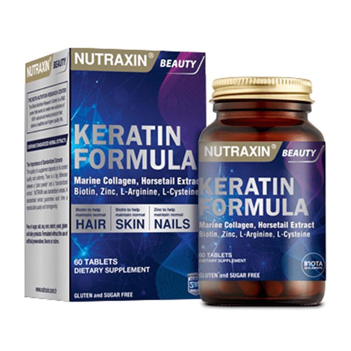 Nutraxin Keratin Formula 60 Tablet