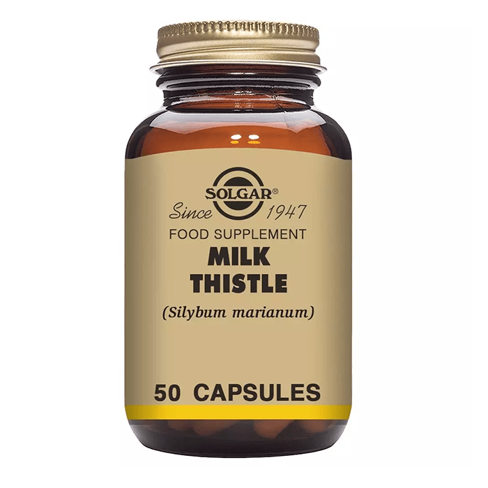 Solgar Milk Thistle 100 mg 50 Kapsül