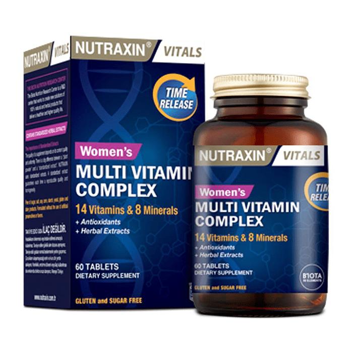 Nutraxin Women's Multi Vitamin Complex 60 Tablet