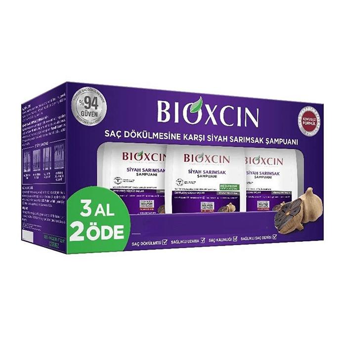 Bioxcin Siyah Sarımsak Şampuanı 300 ml - 3 Al 2 Öde