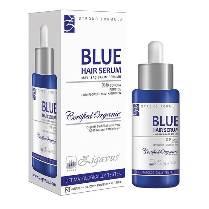 Zigavus Blue Mavi Su Saç Bakım Serumu 33 ml