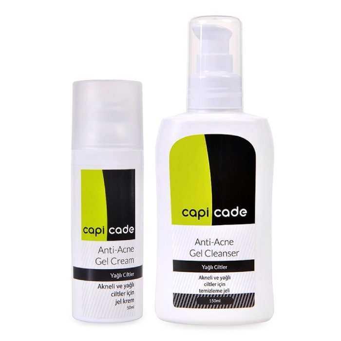 Capicade Anti-Acne Gel Cleanser 150 ml - Yağlı Ciltler için Temizleme Jeli