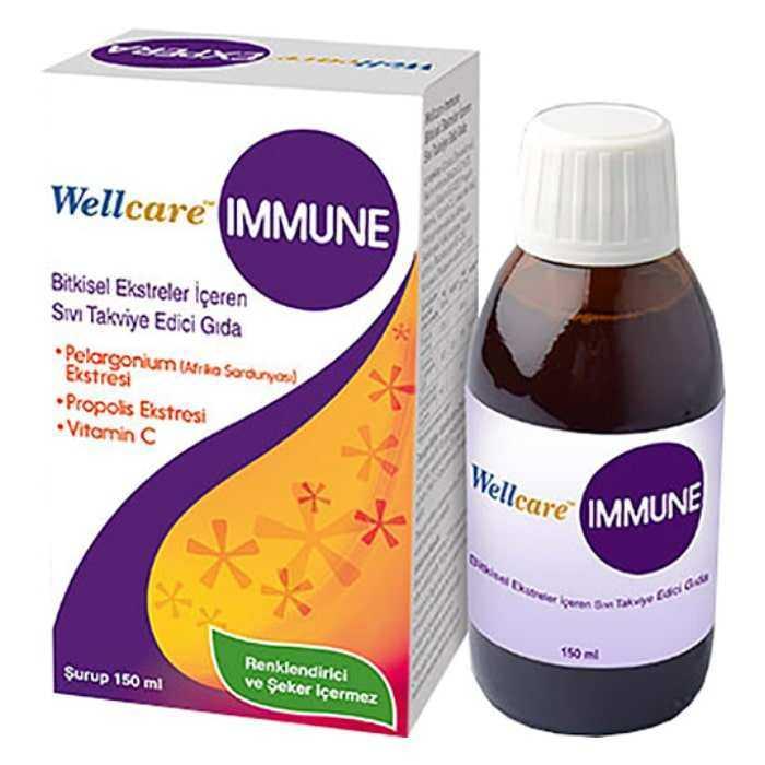 Wellcare Immune Şurup 150 ml