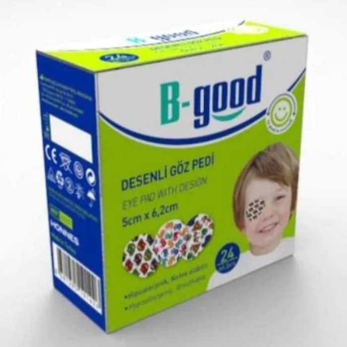B-Good Desenli Göz Pedi 5x6,2 cm 24'Lü