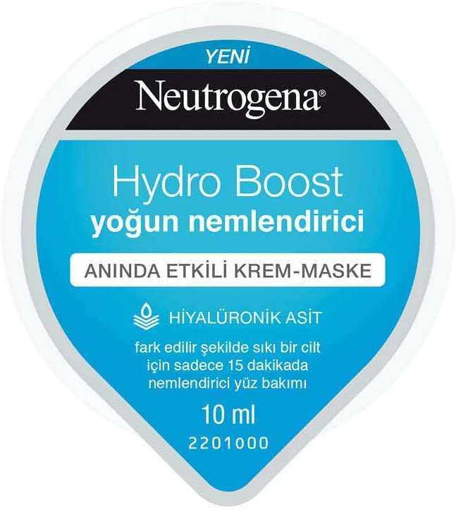 Neutrogena Hydro Boost Yoğun Nemlendirici Krem Maske, 10 ml