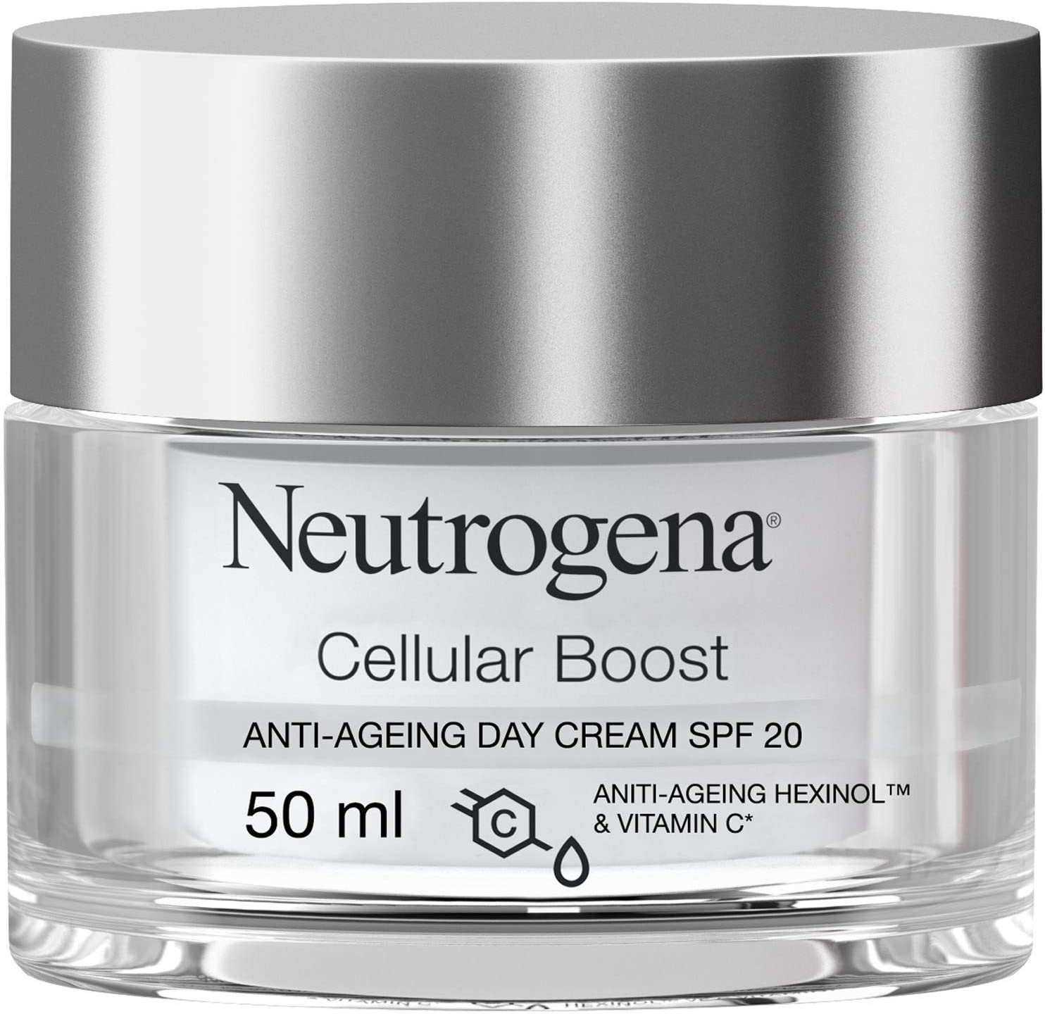 Neutrogena Cellular Boost Yaşlanma Karşıtı Gündüz Kremi Spf 20 50ml, 40 ml
