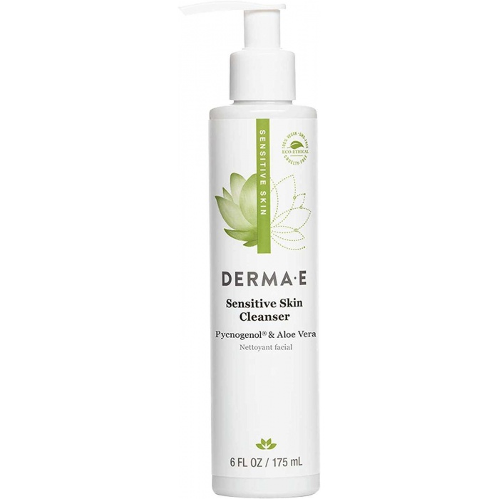 DERMA E Sensitive Skin Cleanser with Pycogenol 175 ml 1 Paket (1 x 1 Adet)