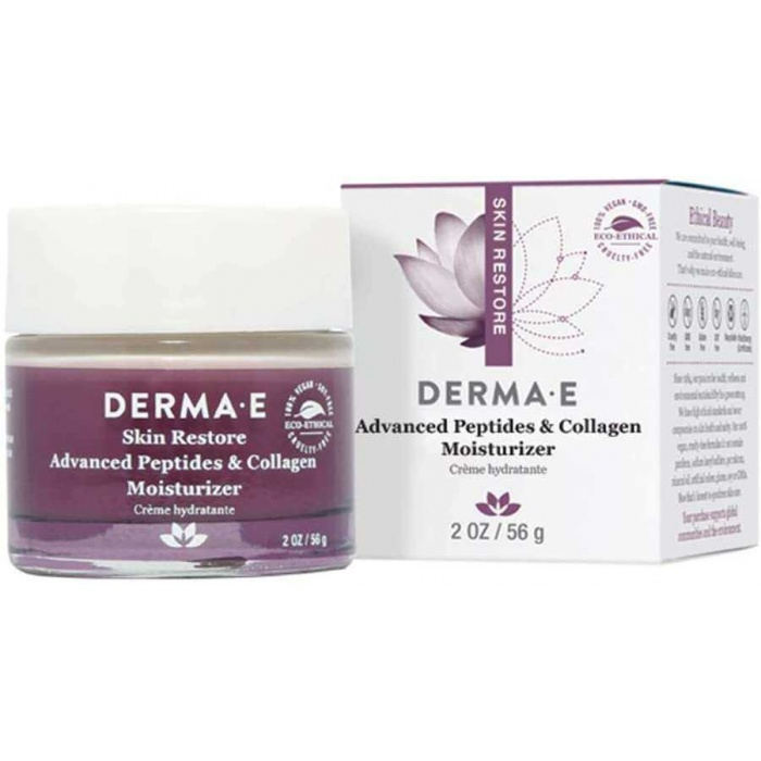 DERMA E Advanced Peptides and Collagen Moisturizer 56 g 1 Paket (1 x 1 Adet)