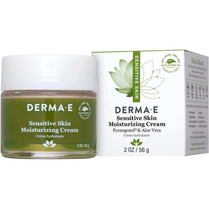 DERMA E Sensitive Skin Moisturizing Cream 56 g 1 Paket (1 x 1 Adet)