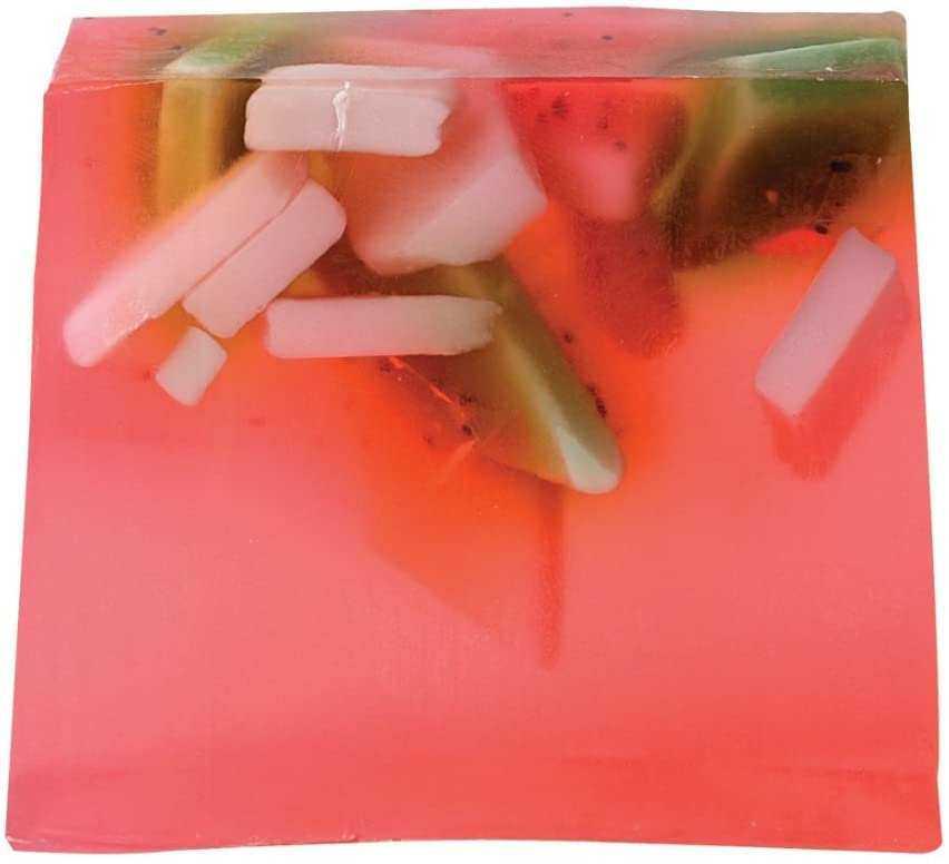 Bomb Cosmetics Strawberry Fields Sabun Dilimi 100g 1 Paket (1 x 1 Adet)