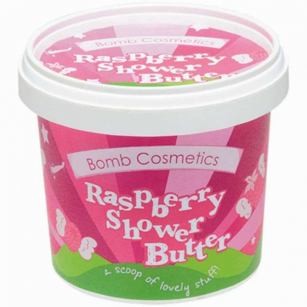 Bomb Cosmetics Raspberry Blower Temizleyici Duş Kremi 320g 1 Paket (1 x 1 Adet)