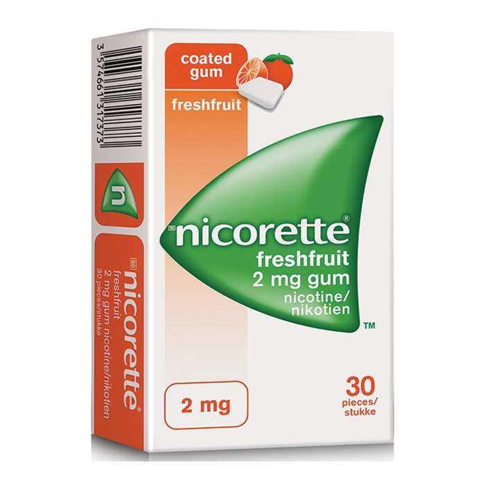 Nicorette 2mg Meyveli Nikotin Sakızı - 30 adet