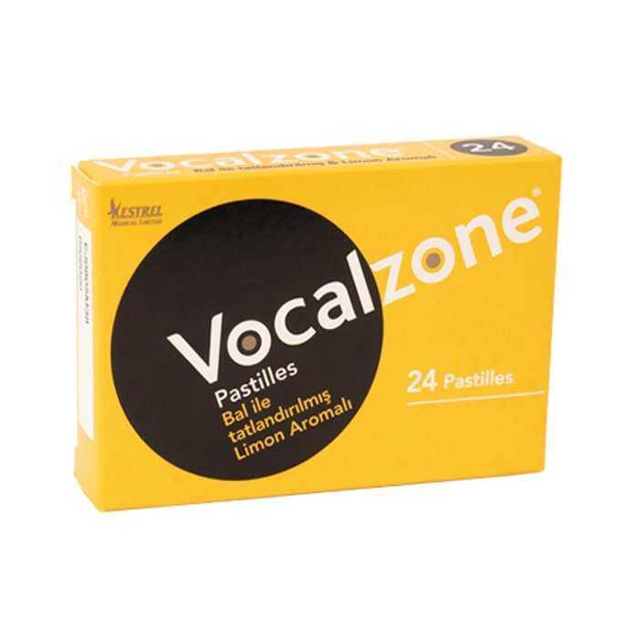 Vocalzone Bal Limon Pastil 24 Adet