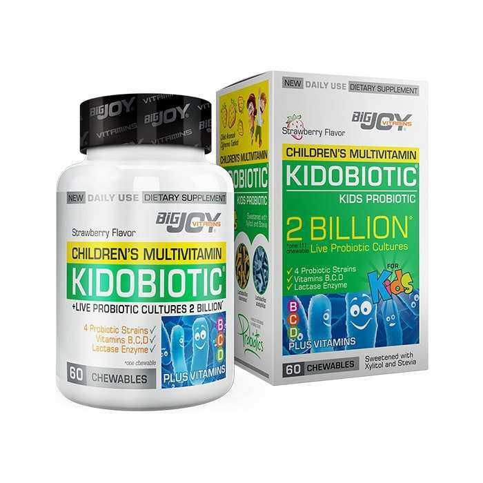 Big Joy Kidobiotic 2 Billion 60 Kapsül