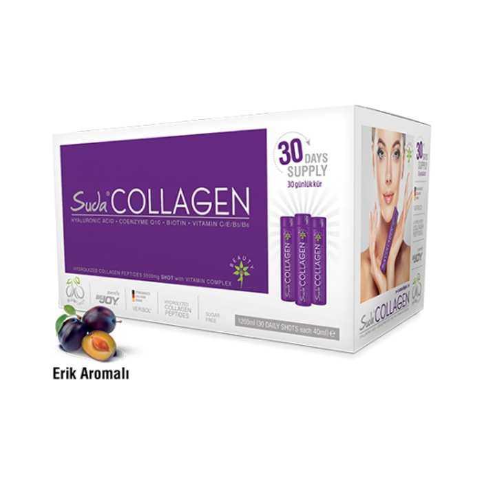 Suda Collagen 1200 ml Erik Aromalı 40ml x 30 Shots